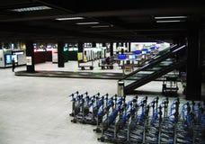 De infrastructuur van de luchthaven Stock Afbeeldingen