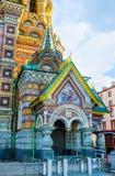 De ingang aan de kerk Royalty-vrije Stock Foto's