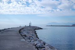 De ingang Cabo Pino van de haven Royalty-vrije Stock Fotografie