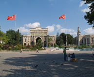 De ingang van Beyacit, Istanboel, Turkije Royalty-vrije Stock Foto
