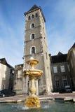 De ingang van Castel van Pau in Frankrijk stock afbeeldingen
