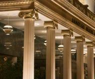 De ingang van de bouw Royalty-vrije Stock Fotografie