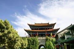 De ingang van de Dalistad, Yunnan, China Stock Fotografie