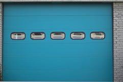 De ingang van de garage Stock Fotografie
