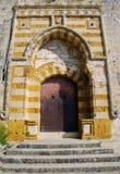 De Ingang van de kerk Stock Fotografie