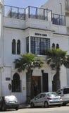 De ingang van de Koffie van de hooimijt, Casablanca, 20,2012 April Royalty-vrije Stock Afbeelding