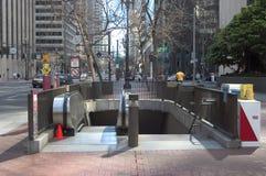 De Ingang van de metro Royalty-vrije Stock Fotografie