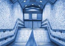 De ingang van de metro Royalty-vrije Stock Afbeeldingen