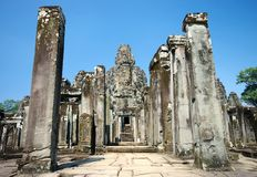 De Ingang van de tempel Royalty-vrije Stock Foto