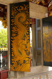 De ingang van de tempel Royalty-vrije Stock Foto's