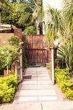 De Ingang van de tuinpoort Royalty-vrije Stock Foto's