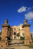 De Ingang van de villa, Italië Stock Foto's