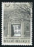 De ingang van de Geraardsbergenabdij royalty-vrije stock foto's