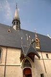 De Ingang van het Armenhuis van Frankrijk Beaune Stock Afbeeldingen