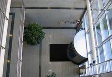 De ingang van het bureau Royalty-vrije Stock Fotografie