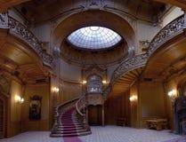 De ingang van het casino hal royalty-vrije stock foto