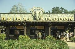 De ingang van het Dierenrijk van de Wereld van Disney Stock Foto