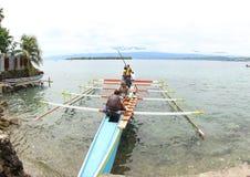 De Ingang van het Evangelie in het Eiland van Papoea royalty-vrije stock foto