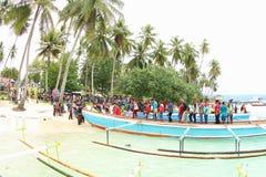 De Ingang van het Evangelie in het Eiland van Papoea royalty-vrije stock foto's
