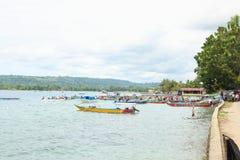 De Ingang van het Evangelie in het Eiland van Papoea stock fotografie