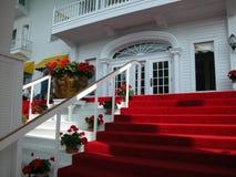 De Ingang van het hotel  Royalty-vrije Stock Afbeelding