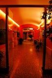 De ingang van het hotel Royalty-vrije Stock Foto