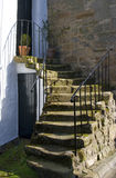 De ingang van het huis. stock foto's