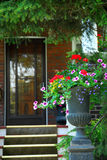 De ingang van het huis Royalty-vrije Stock Afbeeldingen
