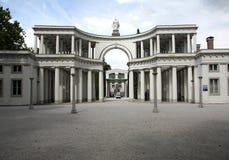 De ingang van het kerkhof Royalty-vrije Stock Afbeelding