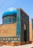 De ingang van het mausoleum Stock Afbeeldingen