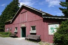 De ingang van het museum Stock Foto