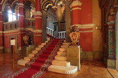De ingang van het Paleis van Terem royalty-vrije stock afbeeldingen