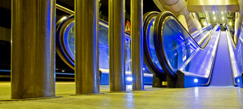 De ingang van het station Stock Afbeelding