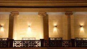 De Ingang van het theater Stock Fotografie