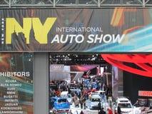 De ingang van Internationale Auto van New York van 2015 toont Stock Fotografie