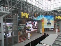 De ingang van Internationale Auto van New York van 2015 toont Stock Foto