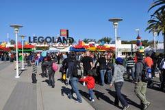 De ingang van Legoland Stock Foto's