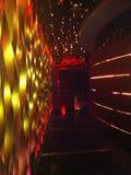 De ingang van nachtclub in het hotel van Conrad, wierless weg Bangkok, Thailand royalty-vrije stock foto's