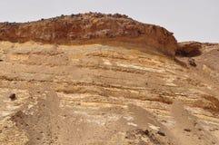 De Ingang van Naqb al-Bahariaya ` van de Bahariya-Depressie ` stock foto