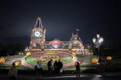 De ingang van Shanghai, China Disneyland royalty-vrije stock afbeelding