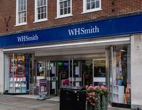 De Ingang van WH Smiths stock afbeeldingen