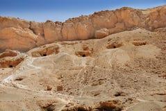 De ingangen Egypte van het graf Royalty-vrije Stock Afbeelding