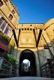De ingangsdeur van het Kasteel van het Saint Michel. Royalty-vrije Stock Afbeeldingen