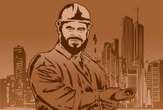 De ingenieur stock illustratie