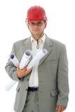 De ingenieur van de bouw Stock Foto's