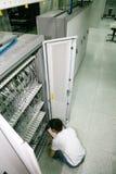 De ingenieur van IT het werken Royalty-vrije Stock Fotografie