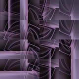 De ingewikkelde moderne verplaatste roze grijze bruine zwarte van het vierkantenpatroon Royalty-vrije Stock Fotografie