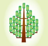 De ingewikkeldheid van het ecosysteem Royalty-vrije Stock Afbeelding