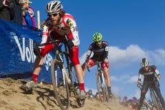 2014 de Ingezetenen van USAC Cyclocross Stock Afbeeldingen