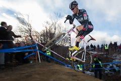 2014 de Ingezetenen van USAC Cyclocross Stock Foto's